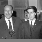 Photo 1 of 32 - Depute elu et Michel Sassine  1970