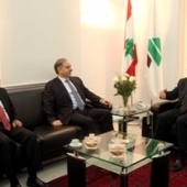 Photo 1 of 18 -  Meeting with MP Michel Pharaon