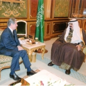 Photo 1 of 25 - Former President meets HH King Abdallah 04032008
