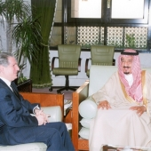 Photo 21 of 25 - Former President meets Crown Prince Selmane 05032008