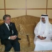 Photo 19 of 25 - Former President meets Cheikh Nahyan Bin Mubarak 02032008