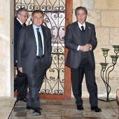 Photo 56 of 110 - President Fouad Siniora in Bikfaya 26022013