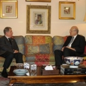 Photo 14 of 18 - Meeting with President Najib Mikati 18052011