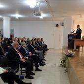 Photo 23 of 57 -  الرئيس الجميّل  مفتتحا ندوة الانهيار الإجتماعي والسياسي في لبنان وشروط النهوض