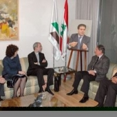 Photo 30 of 56 - Former President meets with St Egidio Delegation 13032007