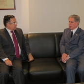 Photo 30 of 62 - Egyptian Foreign Minister Nabil Fehmi 22032014