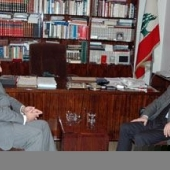 Photo 55 of 56 -  Former President meets with Mr Fadi Abboud 13032007