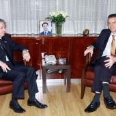 Photo 89 of 152 - Former Pr.Amine Gemayel Meets Belgium Ambassador (2)