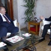 Photo 114 of 152 - Former Pr.Amine Gemayel Meets Egyptian Ambassador (2)