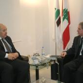 Photo 115 of 152 - Former Pr.Amine Gemayel Meets Egyptian Ambassador (3)