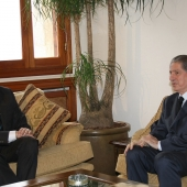 Photo 136 of 152 - Former Pr.Amine Gemayel Meets Equador First Minister Gustavo