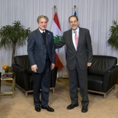 Photo 149 of 152 - Former Pr.Amine Gemayel Meets High Representative of The Eur