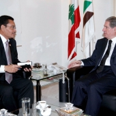 Photo 134 of 152 - Former Pr.Amine Gemayel Meets Indonesian Ambassador