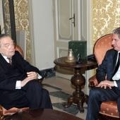 Photo 120 of 152 - Former Pr.Amine Gemayel Meets Italian Former Pr.Minister Giu
