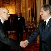 Photo 121 of 152 - Former Pr.Amine Gemayel Meets Italian President Giorgio  (1)