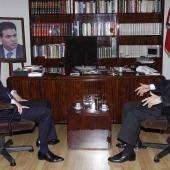 Photo 1 of 152 - Former Pr.Amine Gemayel Meets MP.Elie Aoun
