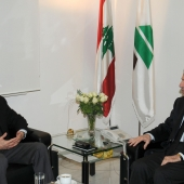 Photo 24 of 152 - Former Pr.Amine Gemayel Meets MP.Tammam Salam
