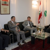 Photo 26 of 152 - Former Pr.Amine Gemayel Meets MPs.Boutros Harb & Antoine Zah
