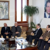 Photo 123 of 152 - Former Pr.Amine Gemayel Meets Meets a Delegation From The Na
