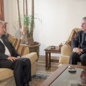 Photo 28 of 152 - Former Pr.Amine Gemayel Meets Mr.Abbas Zaki