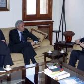 Photo 30 of 152 - Former Pr.Amine Gemayel Meets Mr.Cezar Ragaglini