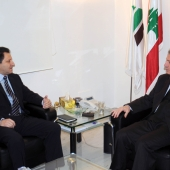 Photo 36 of 152 - Former Pr.Amine Gemayel Meets Mr.Habib Zoughbi