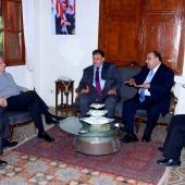 Photo 3 of 152 - Former Pr.Amine Gemayel Meets Mr.Sebouh Kalpakian