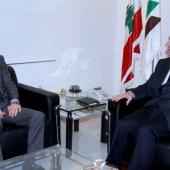 Photo 9 of 152 - Former Pr.Amine Gemayel Meets Sweeden Ambassador