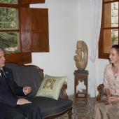 Photo 12 of 152 - Former Pr.Amine Gemayel Meets U.K.Ambassador
