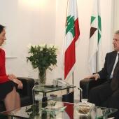 Photo 14 of 152 - Former Pr.Amine Gemayel Meets U.S.Ambassador (2)