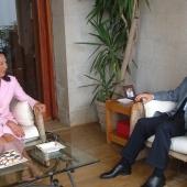 Photo 13 of 152 - Former Pr.Amine Gemayel Meets U.S.Ambassador