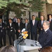 Photo 96 of 152 - Former Pr.Amine Gemayel Meets a Delegation From Tachnag Part