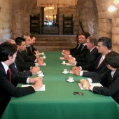 Photo 112 of 152 - Former Pr.Amine Gemayel Meets a Delegation From Tachnag  (2)