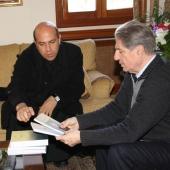 Photo 95 of 152 - Former Pr.Amine Gemayel Meets a Delegation From USEK Uni (1)