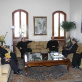 Photo 78 of 152 - Former Pr.Amine Gemayel Meets a Delegation From USEK Univers