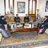 Photo 85 of 152 - Former Pr.Amine Gemayel Meets a Spanish Delegation1