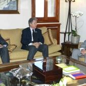 Photo 84 of 152 - Former Pr.Amine Gemayel Meets a Spanish Delegation