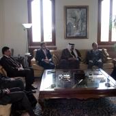 Photo 86 of 152 - Former Pr.Amine Gemayel Meets an Iraqi Delegation