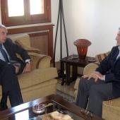 Photo 87 of 152 - Former Pr.Amine Gemayel meets Argentina Ambassador