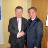 Photo 138 of 152 - Former Pr.Amine Gemayel meets Foreign Minister of Belgium Ka