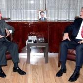 Photo 142 of 152 - Former Pr.Amine Gemayel meets French Ambassador