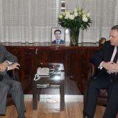 Photo 145 of 152 - Former Pr.Amine Gemayel meets Gorgian Deputy Pr.Minister