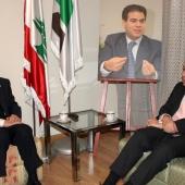 Photo 146 of 152 - Former Pr.Amine Gemayel meets Greek Ambassador.