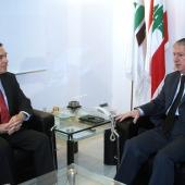Photo 151 of 152 - Former Pr.Amine Gemayel meets Holland Ambassador (2)