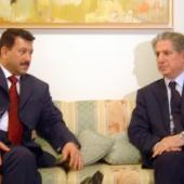 Photo 116 of 152 - Former Pr.Amine Gemayel meets Iraqi Minister