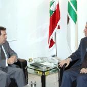 Photo 132 of 152 - Former Pr.Amine Gemayel meets MP.Boutros Hareb