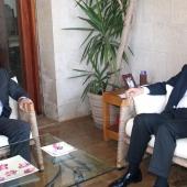 Photo 21 of 152 - Former Pr.Amine Gemayel meets MP.Emile Rahme.
