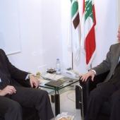 Photo 22 of 152 - Former Pr.Amine Gemayel meets MP.Hadi Houbeich