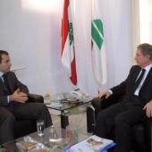 Photo 25 of 152 - Former Pr.Amine Gemayel meets MP.Ziad Kadri.
