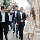 Photo 128 of 152 - Former Pr.Amine Gemayel meets Minister Sleiman Frangieh.1